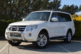 2013 Mitsubishi Pajero NW MY13 VR-X White 5 Speed Sports Automatic Wagon.