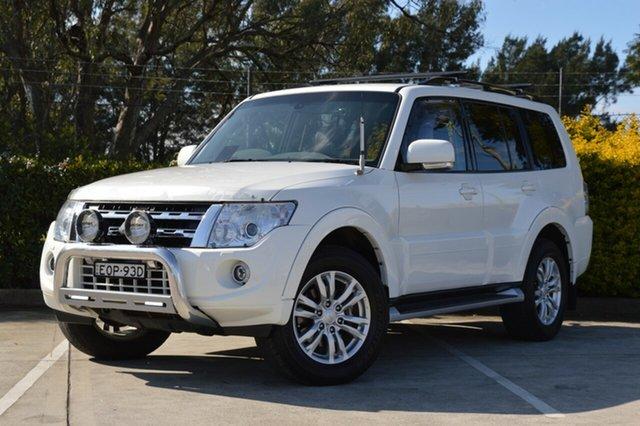 Used Mitsubishi Pajero NW MY13 VR-X Maitland, 2013 Mitsubishi Pajero NW MY13 VR-X White 5 Speed Sports Automatic Wagon