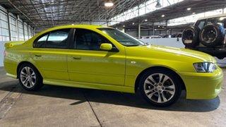 2003 Ford Falcon BA XR6 Turbo Green 4 Speed Sports Automatic Sedan.