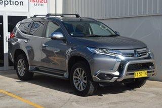 2018 Mitsubishi Pajero Sport QE MY18 GLX Silver 8 Speed Sports Automatic Wagon.
