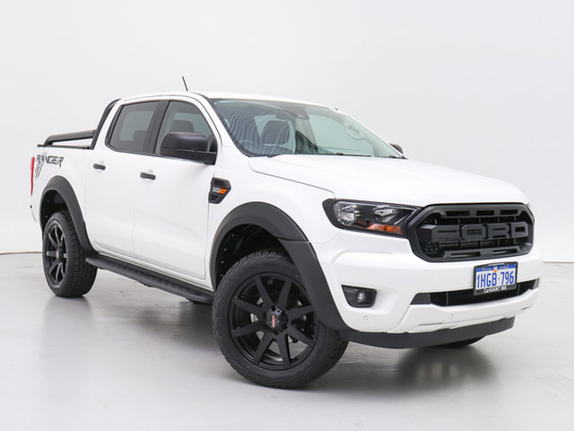 Used Ford Ranger PX MkIII MY21.25 XLS 3.2 (4x4), 2021 Ford Ranger PX MkIII MY21.25 XLS 3.2 (4x4) White 6 Speed Automatic Double Cab Pick Up