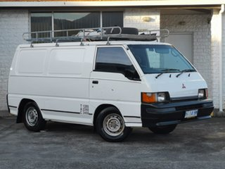 1998 Mitsubishi Express SJ SWB White 5 Speed Manual Van.