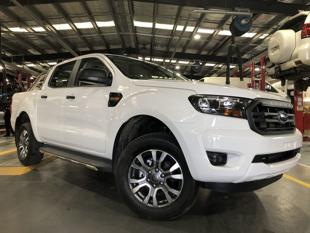 Pre-Owned Ford Ranger PX MkIII 2021.25MY XL Oakleigh, 2020 Ford Ranger PX MkIII 2021.25MY XL White 6 Speed Sports Automatic Double Cab Pick Up