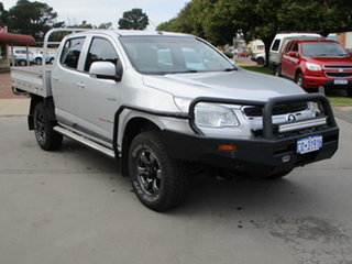 2014 Holden Colorado RG MY14 LX 4x4 Silver 6 Speed Automatic Dual Cab.