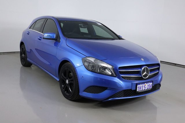 Used Mercedes-Benz A180 176 BE Bentley, 2013 Mercedes-Benz A180 176 BE Blue 7 Speed Automatic Hatchback