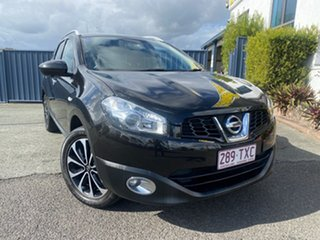 2013 Nissan Dualis J107 Series 3 MY12 +2 Hatch X-tronic 2WD Ti-L Black 6 Speed Constant Variable.