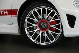 2018 Abarth 595 Series 4 White 5 Speed Manual Hatchback.