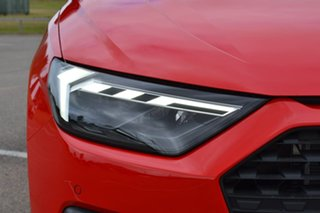 2020 Audi A1 GB MY21 30 TFSI Sportback S Tronic Red 7 Speed Sports Automatic Dual Clutch Hatchback.