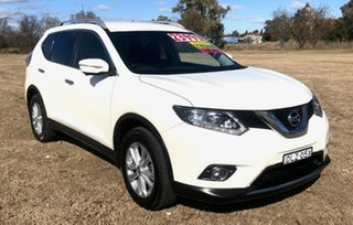 2017 Nissan X-Trail T32 Series II ST-L X-tronic 2WD White 7 Speed Constant Variable Wagon.