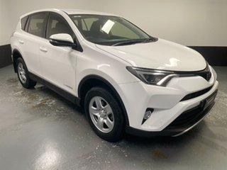 2018 Toyota RAV4 ALA49R GX AWD White 6 Speed Sports Automatic Wagon.
