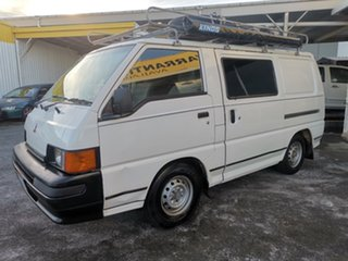 1998 Mitsubishi Express SJ SWB White 5 Speed Manual Van