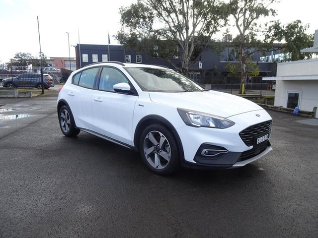 Used Ford Focus SA 2020.25MY Active Nowra, 2020 Ford Focus SA 2020.25MY Active Frozen White 8 Speed Automatic Hatchback