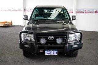 2011 Toyota Landcruiser UZJ200R Altitude SE Graphite 5 Speed Automatic Wagon.