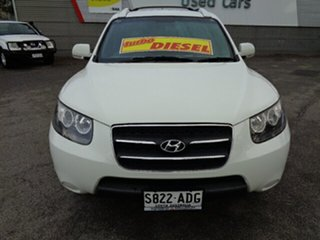 2009 Hyundai Santa Fe CM MY09 SX White 5 Speed Sports Automatic Wagon.