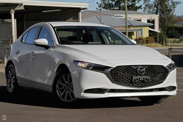 New Mazda 3 BP2S7A G20 SKYACTIV-Drive Pure Waitara, 2021 Mazda 3 BP2S7A G20 SKYACTIV-Drive Pure White 6 Speed Sports Automatic Sedan