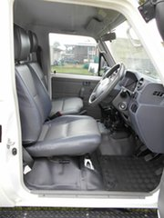 2014 Toyota Landcruiser VDJ79R MY12 Update GX (4x4) White 5 Speed Manual Cab Chassis