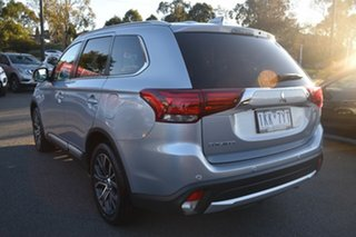 2017 Mitsubishi Outlander ZK MY17 LS 2WD Billet Silver 6 Speed Constant Variable Wagon.