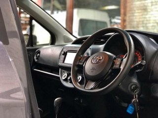 2018 Toyota Yaris NCP130R Ascent Grey 4 Speed Automatic Hatchback