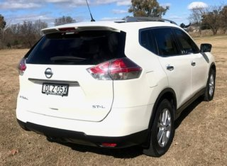 2017 Nissan X-Trail T32 Series II ST-L X-tronic 2WD White 7 Speed Constant Variable Wagon