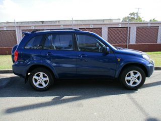 2002 Toyota RAV4 ACA21R Cruiser Blue 4 Speed Automatic Wagon.