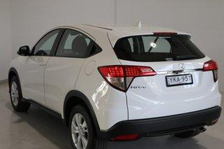 2021 Honda HR-V MY21 VTi White 1 Speed Constant Variable Hatchback.
