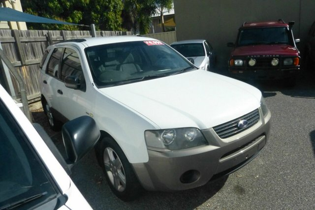 Used Ford Territory SY TX AWD Gladstone, 2007 Ford Territory SY TX AWD White 6 Speed Sports Automatic Wagon