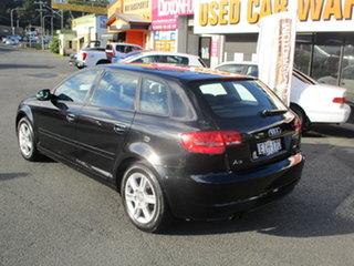 2011 Audi A3 8P MY11 Sportback 1.4 TFSI Attraction Black 7 Speed Auto Direct Shift Hatchback.