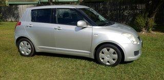 2008 Suzuki Swift RS415 Silver 5 Speed Manual Hatchback.