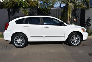 2011 Dodge Caliber PM MY11 SXT White 6 Speed Constant Variable Hatchback