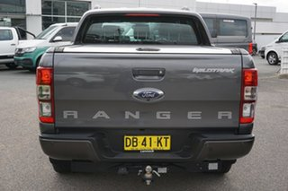 2017 Ford Ranger PX MkII 2018.00 Wildtrak Double Cab Grey 6 Speed Sports Automatic Utility