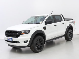 2021 Ford Ranger PX MkIII MY21.25 XLS 3.2 (4x4) White 6 Speed Automatic Double Cab Pick Up.