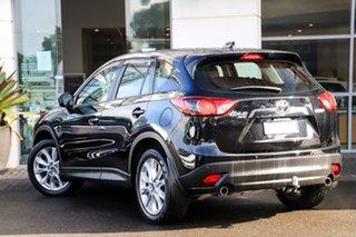 2014 Mazda CX-5 KE1021 MY14 Akera SKYACTIV-Drive AWD Black 6 Speed Sports Automatic Wagon.