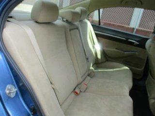 2007 Honda Civic 8th Gen MY07 Hybrid Blue 1 Speed Constant Variable Sedan Hybrid