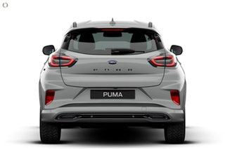 2020 Ford Puma JK 2021.25MY ST-Line V Silver 7 Speed Sports Automatic Dual Clutch Wagon.