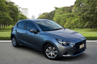 2015 Mazda 2 DJ2HAA Neo SKYACTIV-Drive Silver 6 Speed Sports Automatic Hatchback.