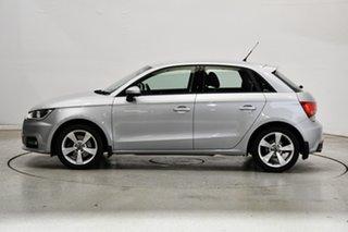 2016 Audi A1 8X MY16 Sport Sportback S Tronic Silver 7 Speed Sports Automatic Dual Clutch Hatchback.