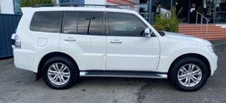 2016 Mitsubishi Pajero NX MY16 GLS White 5 Speed Sports Automatic Wagon.