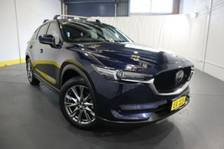 2019 Mazda CX-5 MY19 (KF Series 2) Akera (4x4) Blue 6 Speed Automatic Wagon.