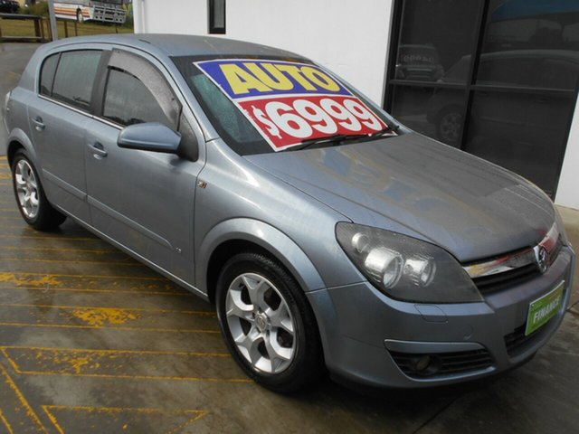 Used Holden Astra AH MY05 CDXi Springwood, 2005 Holden Astra AH MY05 CDXi Silver 4 Speed Automatic Hatchback