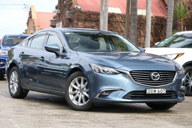 Pre-Owned Mazda 6 6C MY15 Touring Mosman, 2016 Mazda 6 6C MY15 Touring Dark Blue 6 Speed Automatic Sedan