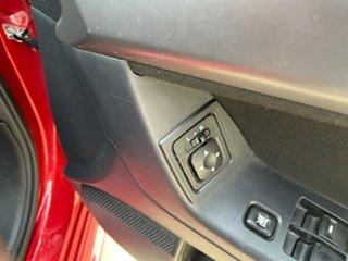 2010 Mitsubishi Lancer CJ MY11 ES Sportback Red 5 Speed Manual Hatchback