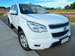 2012 Holden Colorado RG MY13 LX Crew Cab 4x2 White 6 Speed Sports Automatic Utility.