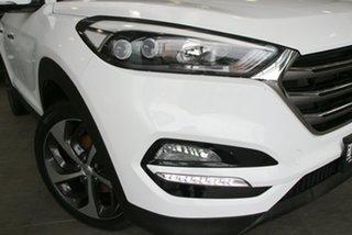 2016 Hyundai Tucson TLE Elite AWD White 6 Speed Sports Automatic Wagon.