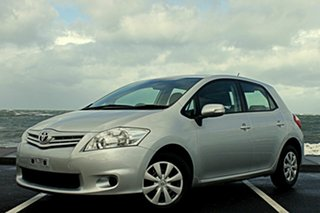 2011 Toyota Corolla ZRE152R MY11 Ascent Silver 4 Speed Automatic Hatchback.
