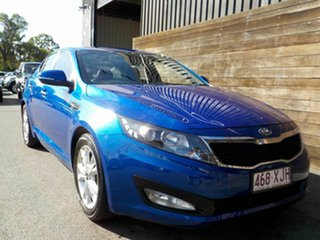 2012 Kia Optima TF MY12 SI Blue 6 Speed Sports Automatic Sedan.
