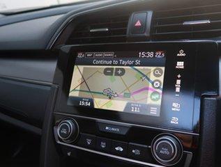 2019 Honda Civic 10th Gen MY18 VTi-LX Silver 1 Speed Constant Variable Hatchback