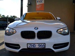 2012 BMW 1 Series F20 116i White 8 Speed Sports Automatic Hatchback
