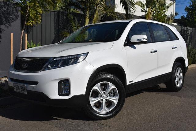 Used Kia Sorento XM MY14 Si 4WD Brighton, 2013 Kia Sorento XM MY14 Si 4WD Pearl White 6 Speed Sports Automatic Wagon