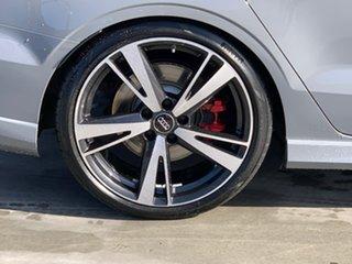 2017 Audi RS 3 8V MY18 S Tronic Quattro Grey 7 Speed Sports Automatic Dual Clutch Sedan