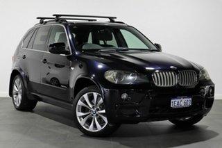 2009 BMW X5 E70 MY09 xDrive35d Steptronic Blue 6 Speed Sports Automatic Wagon.